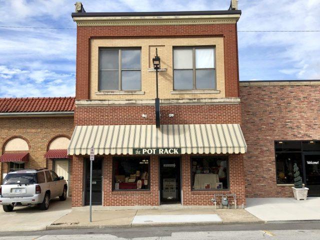 The Pot Rack shop in Historic Downtown Leavenworth Kansas