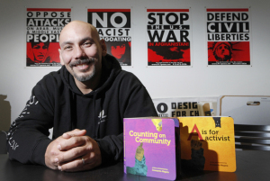 Children's book author Innosanto Nagara