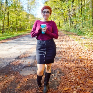 The perfect Fall skirt
