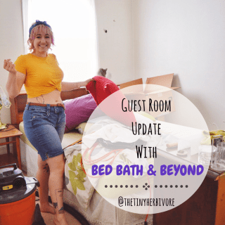 Guest Room Update With Bed Bath & Beyond!