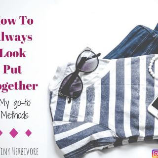how to look put together