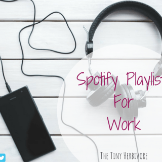 Spotify Playlists for Work: My Current Favorites