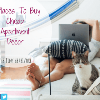 cheap apartment decor