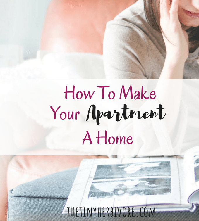 make your apartment homier
