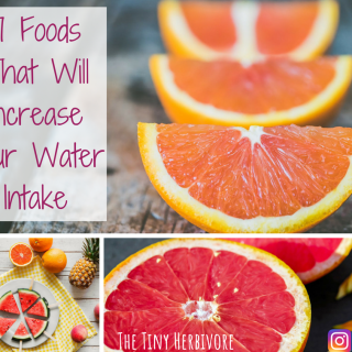 7 Foods You Can Eat To Increase Your Water Intake