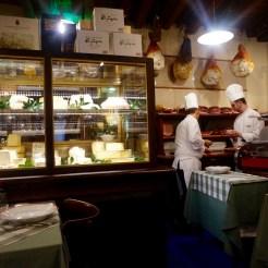 Cheese and Salumi counter