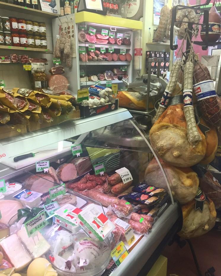 Hams and Salami