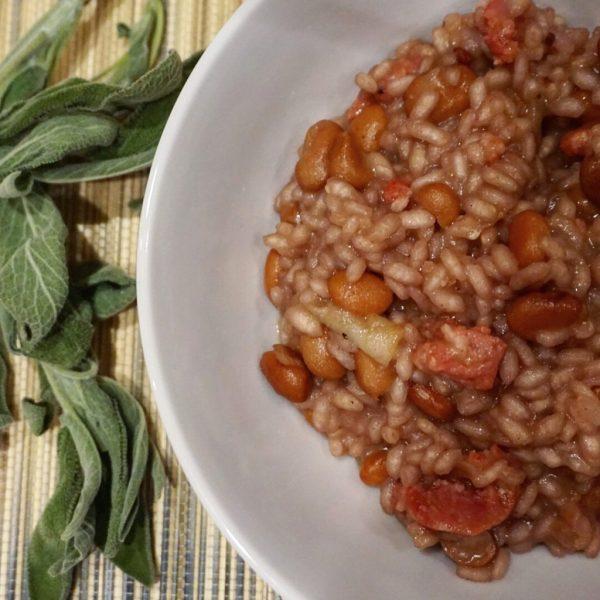 Tuscan Sausage & Bean Risotto