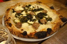 Pizza with Sausage and Friarelli