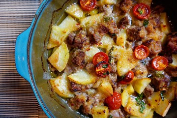 Puglian Lamb and Potato stew