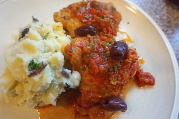 Chicken alla Caccciatore