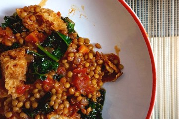 italian lentil tomato stew
