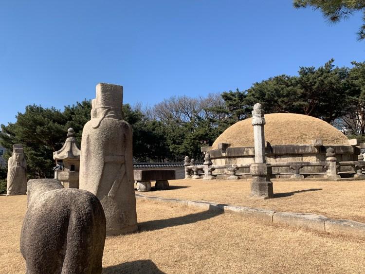 Joseon Dynasty tombs in Gangnam Korean UNESCO sites