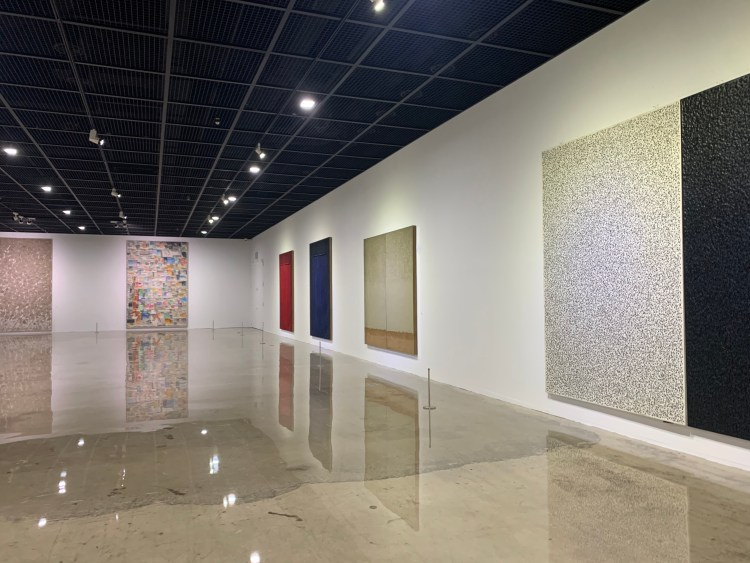 An exhibit at the Daejeon Museum of Art do in Daejeon