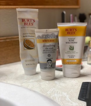 Burt's Bees for Skin Care Products