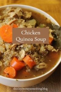 Pin now! Chicken-Quinoa-Soup