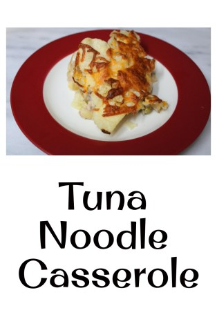 Tuna Noodle Casserole Recipe pin
