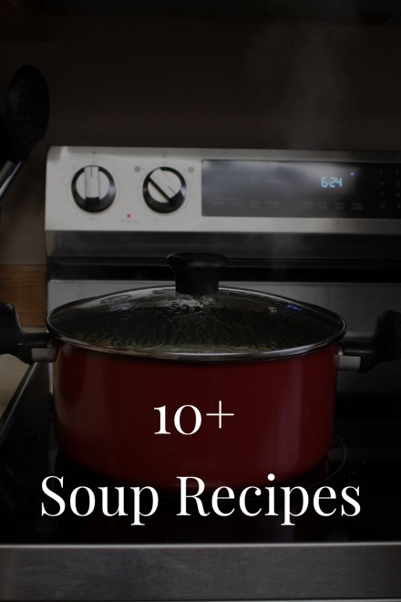 10+ Soup Recipes