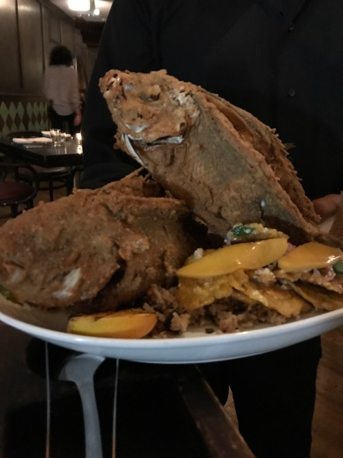 Pescado Frito ~ Columbian Style Whole Fried Snapper