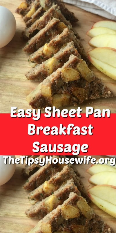 Sheet Pan Breakfast Sausage