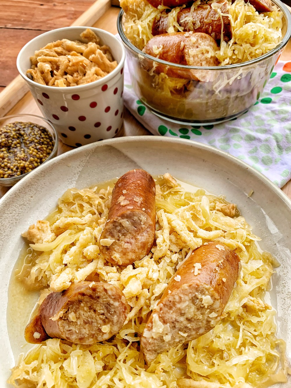 Smoked Kielbasa and Kraut that everyone will love.