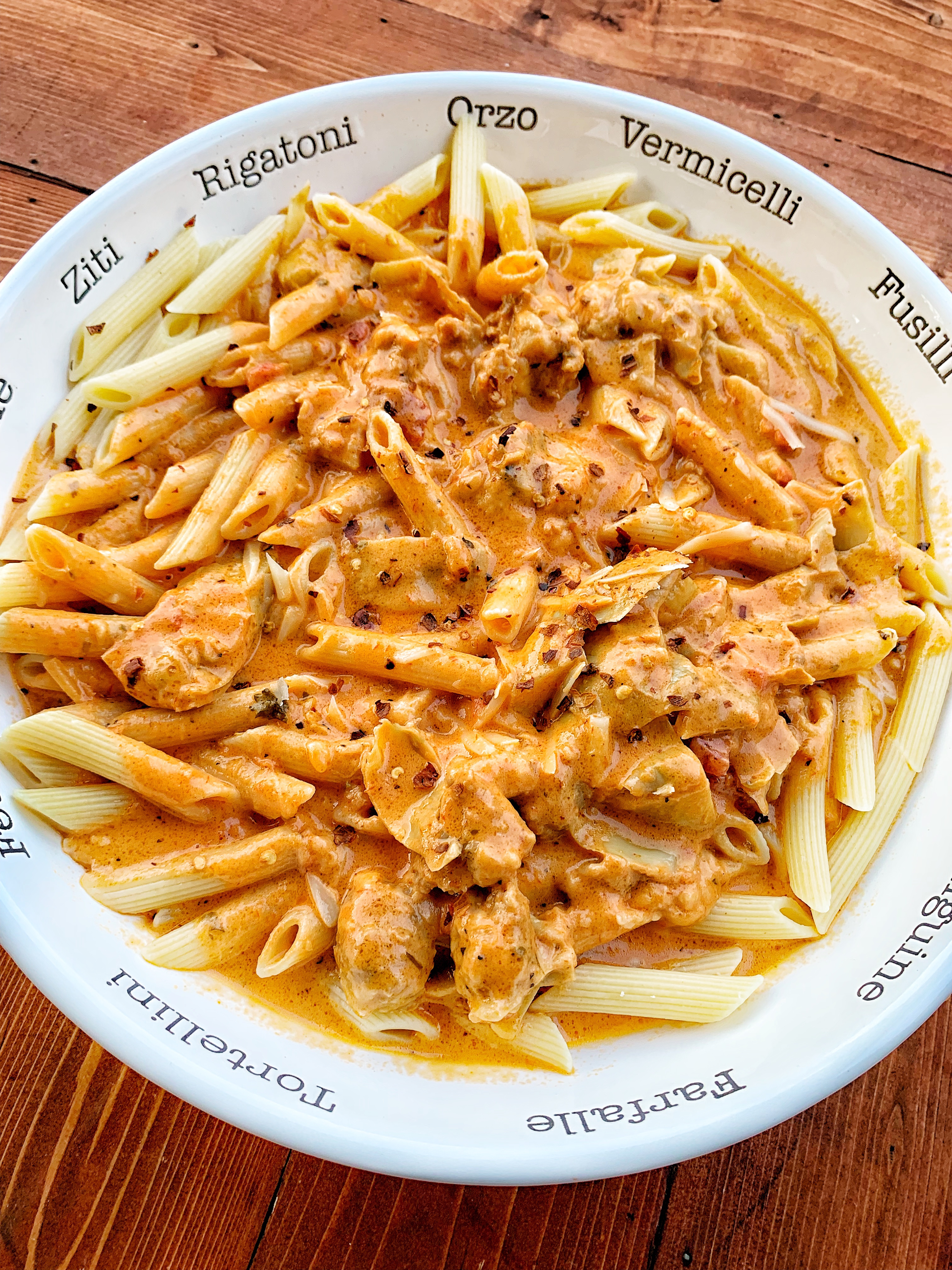 An easy pasta sauce that is great for dinner.
