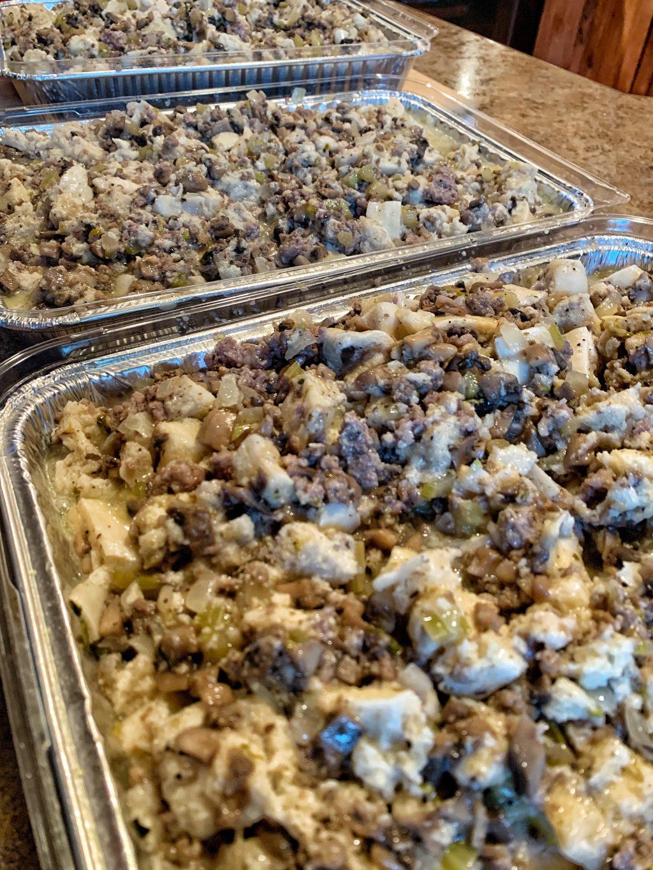 Bread Dumpling Thanksgiving Stuffing