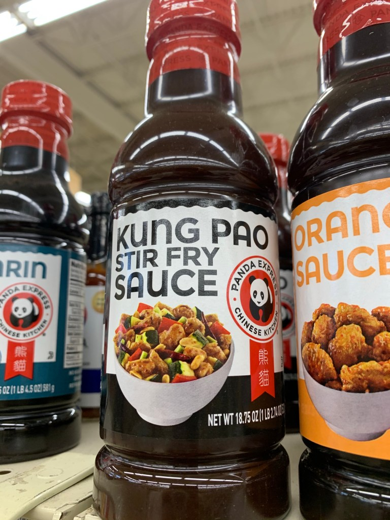 Kung pao stir fry sauce from panda express