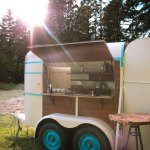 How We Converted A Vintage Trailer Into A Mobile Bar The Tipsy Mule