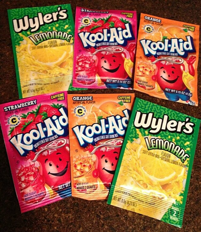 Kool-Aid drink mixes without sugar