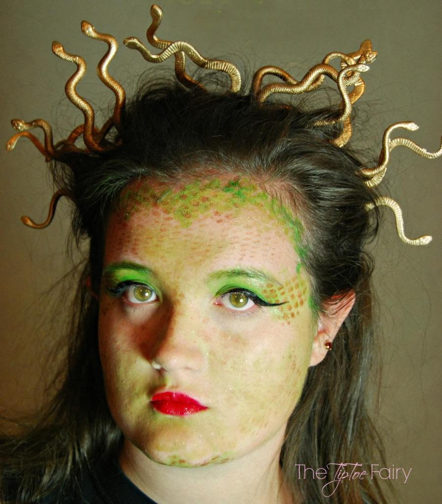 Finished Medusa Look