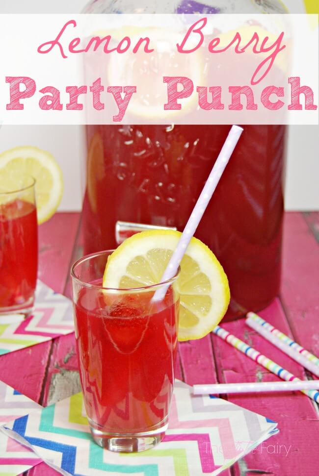 How to make Easy Lemon Berry Party Punch.