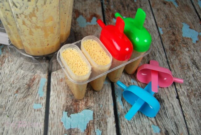 WaterWipes & Peach Strawberry Banana Yogurt Pops #WaterWipes #IC (ad) | The TipToe Fairy