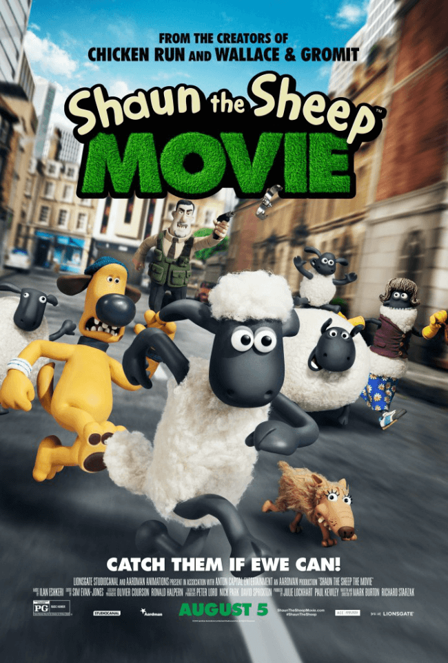 Shaun the Sheep Movie - coming August 5th to theaters! Come over to win a #ShauntheSheep prize pack! #IC #ad | The TipToe Fairy