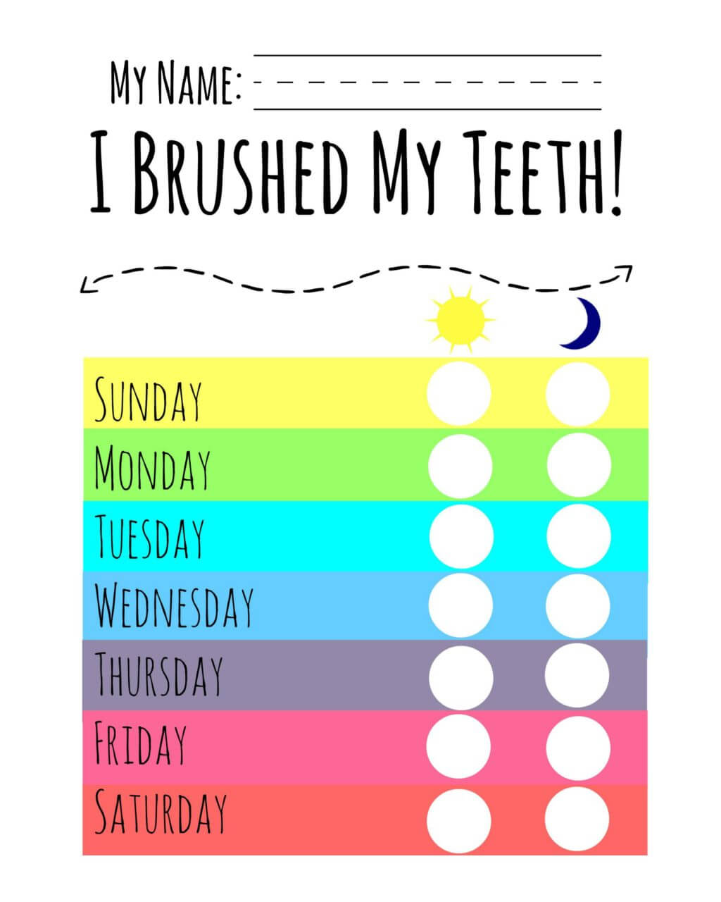 Simple Tips To Healthy Smiles With A Free Printable