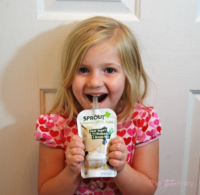 On the Go Preschool Lunch AD #SproutFoods @SproutFoods | The TipToe Fairy