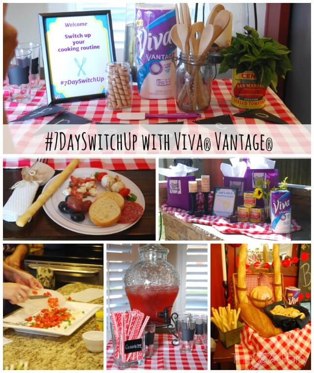 Five Kitchen Switch Up Ideas with Viva® Vantage® - 7DaySwitchUp AD | The TipToe Fairy