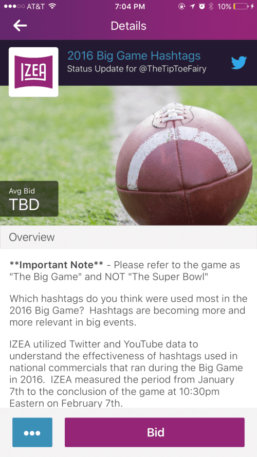 Check out the new #IZEAiOS app! Bid & create content anywhere! #ad @IZEA #influencers #bloggers