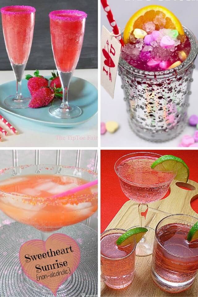 12 Valentine Mocktails #recipes #drinks & enter to #win $500 Target gc!