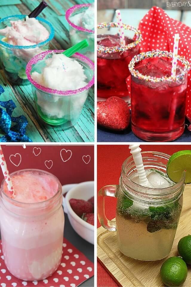 12 Valentine Mocktails #recipes #drinks & enter to #win $500 Target gc!