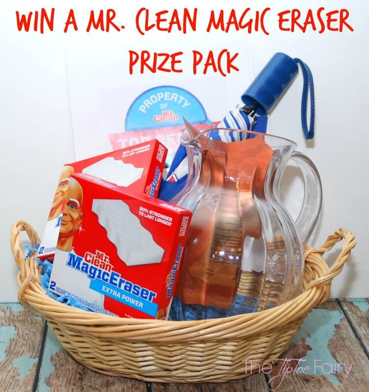 Enter to #Win a @RealMrClean Prize Pack! #MagicEraser #ad #giveaway