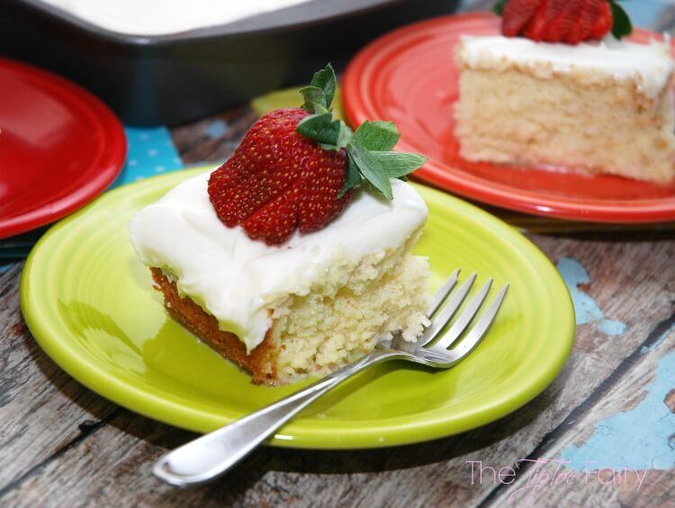 Lazy Mom Tres Leches Cake - easy #dessert #food #cake