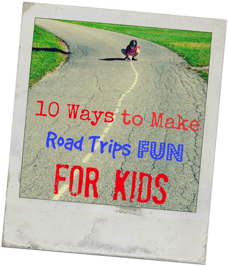 10 Ways to Make Road Trips Fun & Easy for #Kids http://cbi.as/3cwlm  #AD #Guides4eBay #travel #familytravel