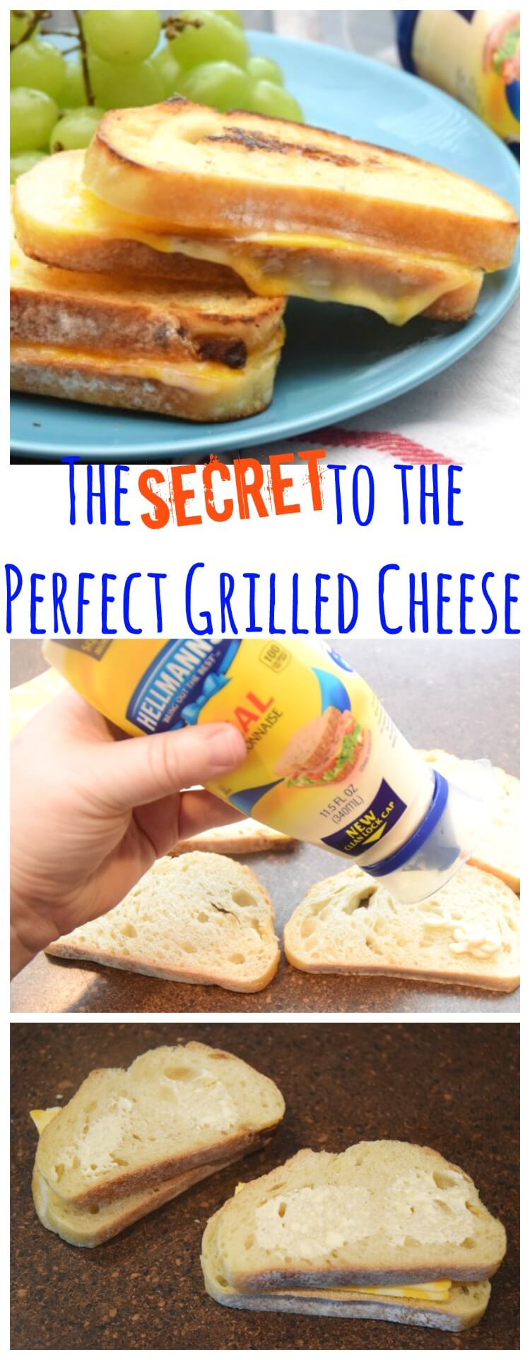 #MakeMoreofMealtime w/ Hellmann's for the perfect grilled cheese! #ad #food #yum