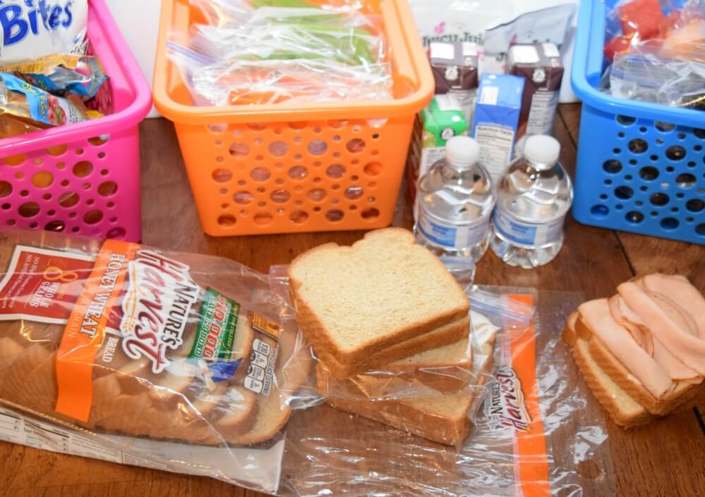 Stress Free Ideas for School Lunches #school #lunch #ad #kids
