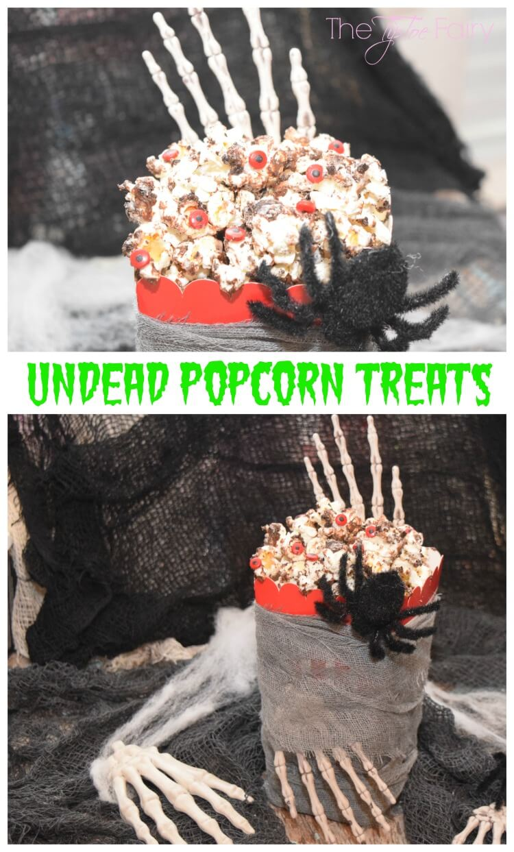 Make some Undead Popcorn w/the Popcorn Blog Hop! #popcornboxparty2016 #halloween