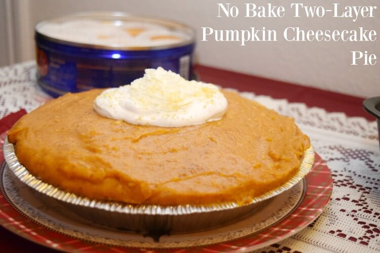 Make this easy No Bake Pumpkin Cheesecake Pie w/ingredients from @DollarGeneral! #ad #yum