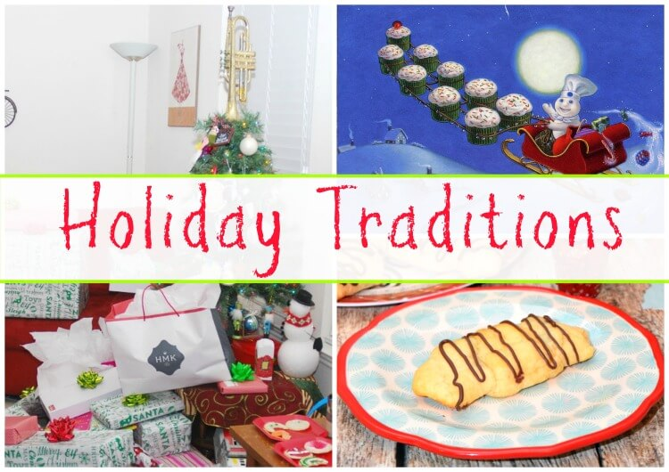 See our #HolidayTraditions & make Stuffed Brownie Crescent Rolls! #ad @generalmills