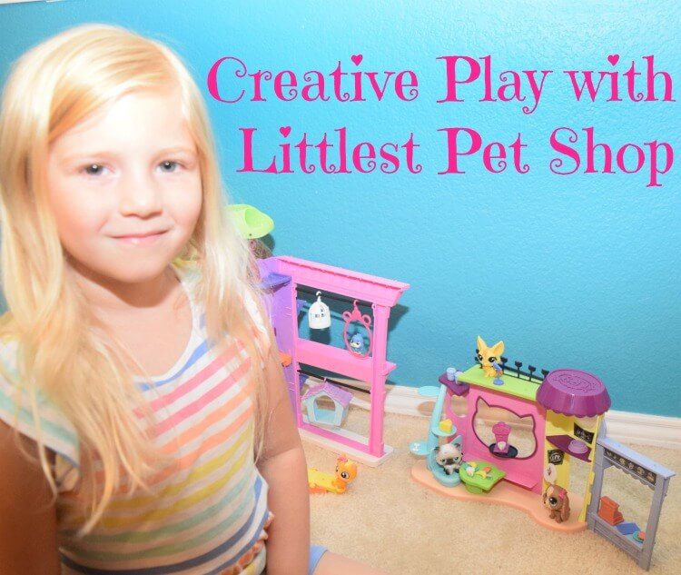 Looking for creative play for the kids? Check out our review for #LittlestPetShop playsets! #ad
