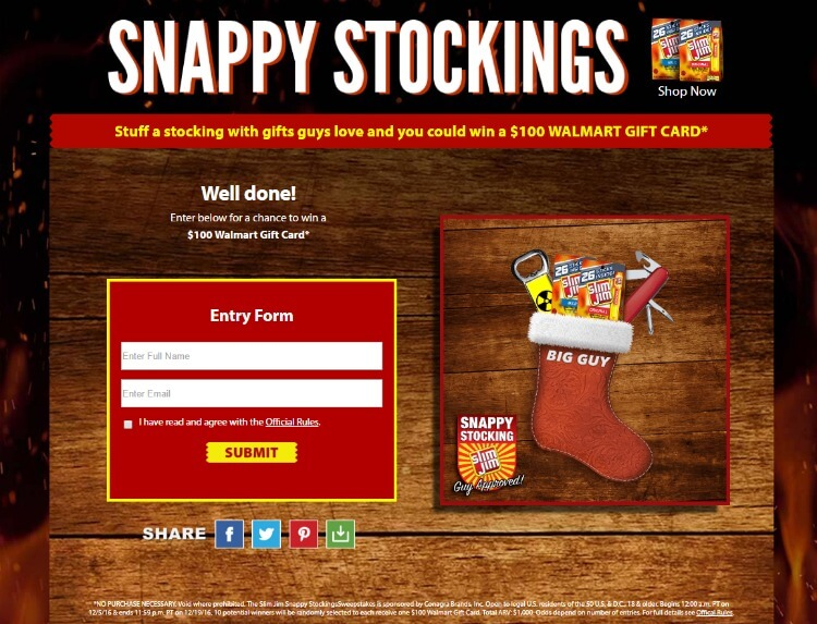 Create a guy-approved stocking & you could $100 gc! #SnappyStockingsWM #ad http://bit.ly/2fMVkt5